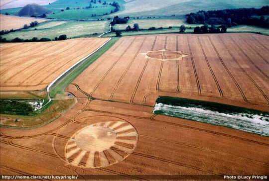 Crop Circles, Agrogramas o Agroglifos (Señales..Profecias ?